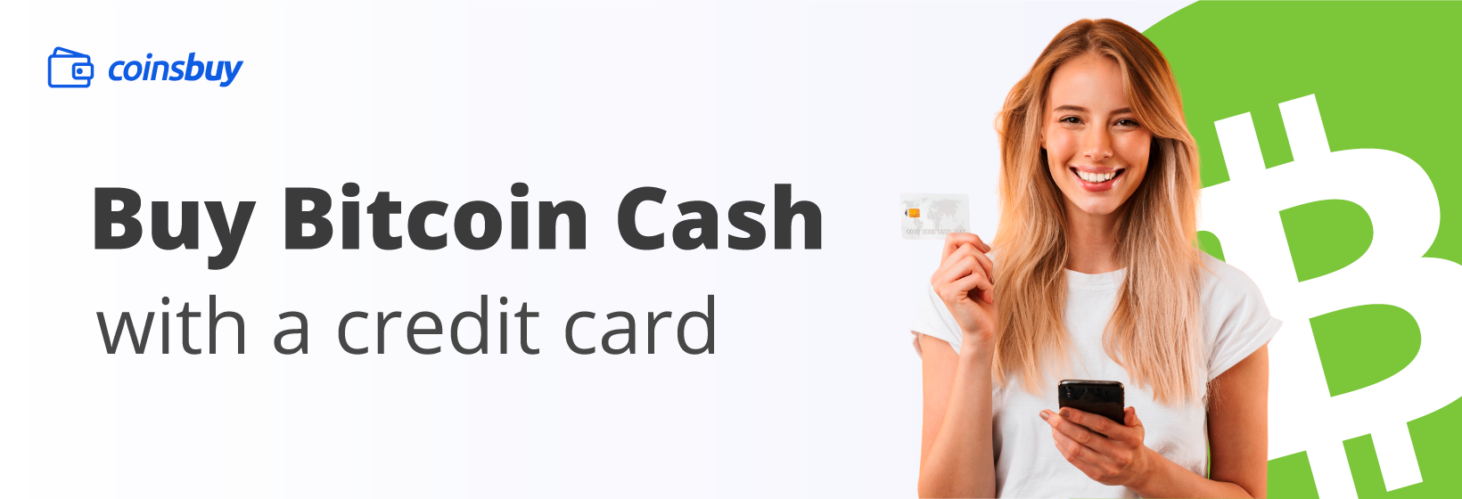 Buy Bitcoin Cash with a credit card