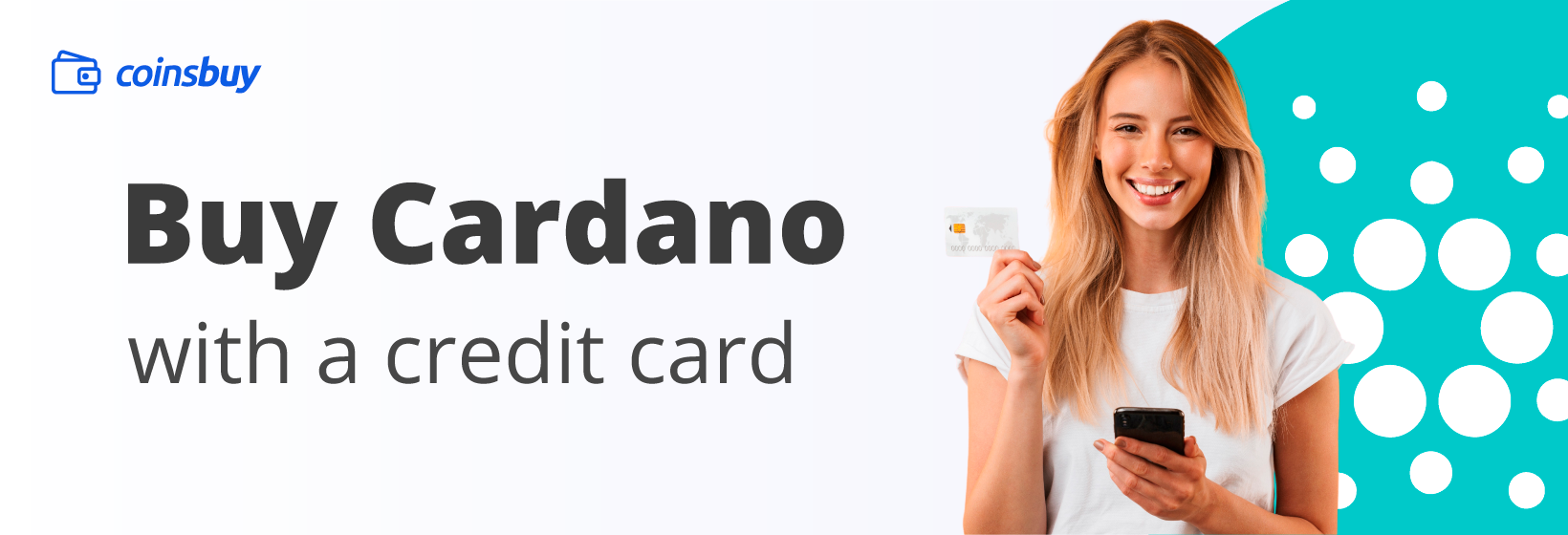 Buy Cardano with credit card