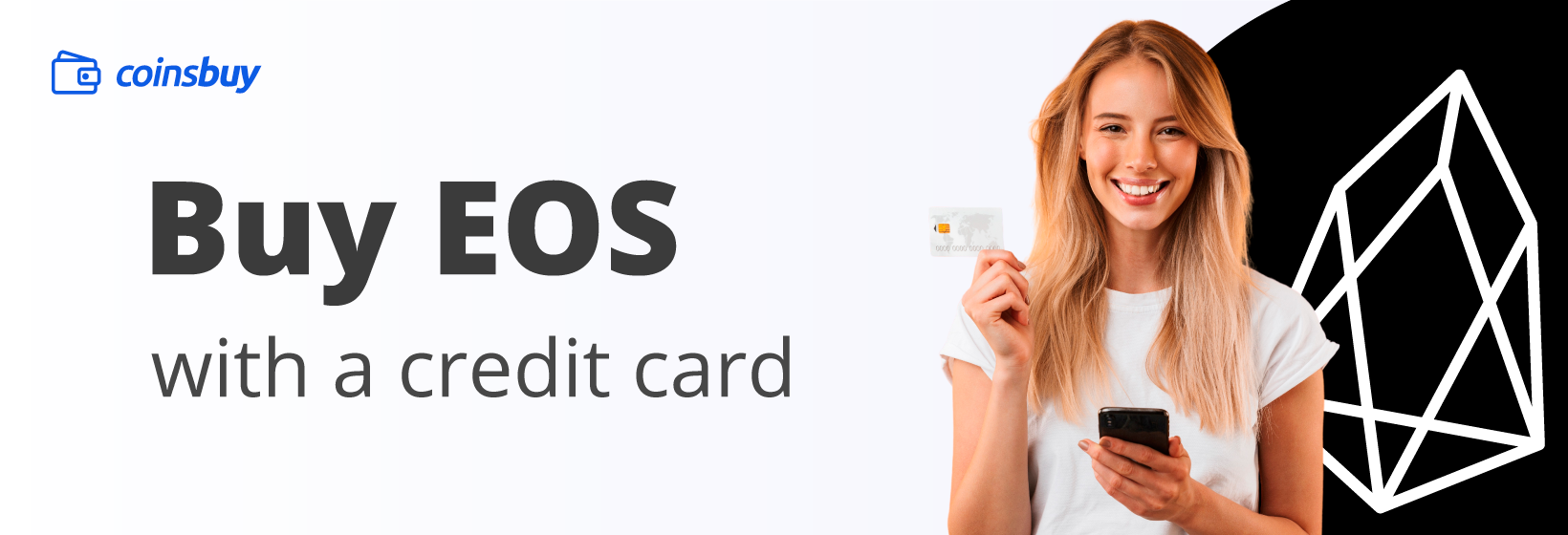 Buy EOS with credit card
