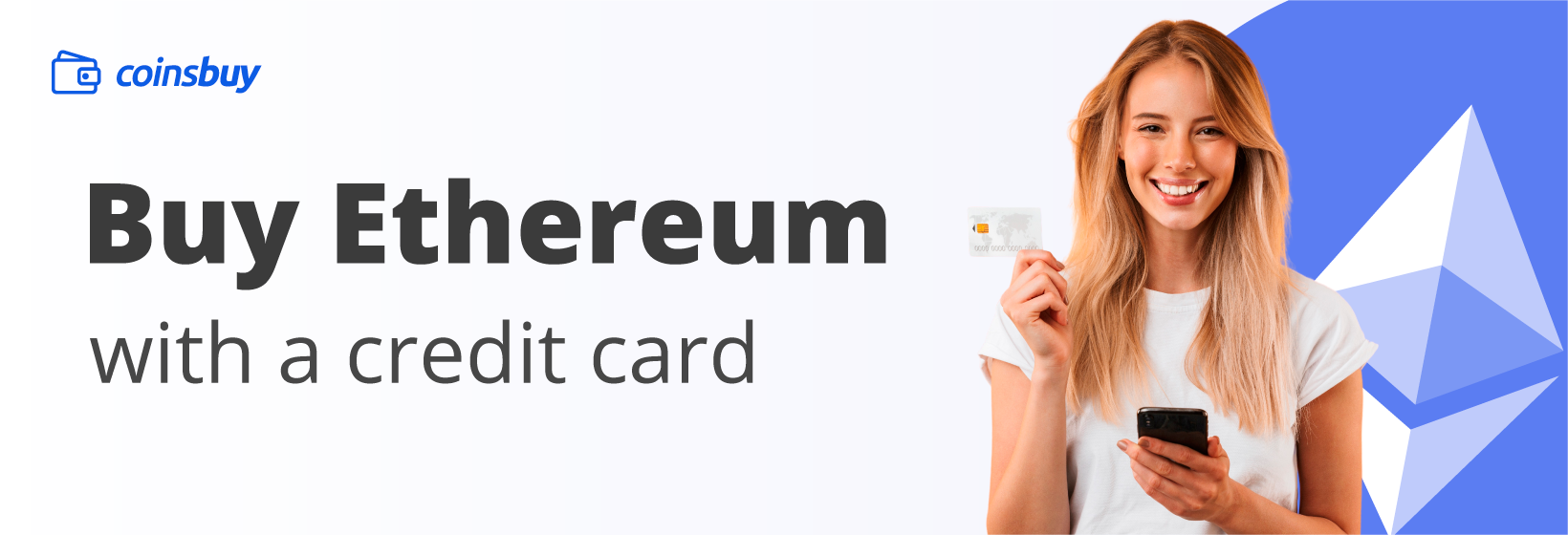 Buy Ethereum with a credit card