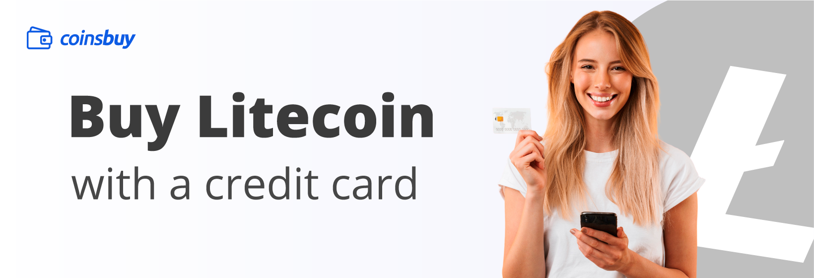 Buy Litecoin with credit card