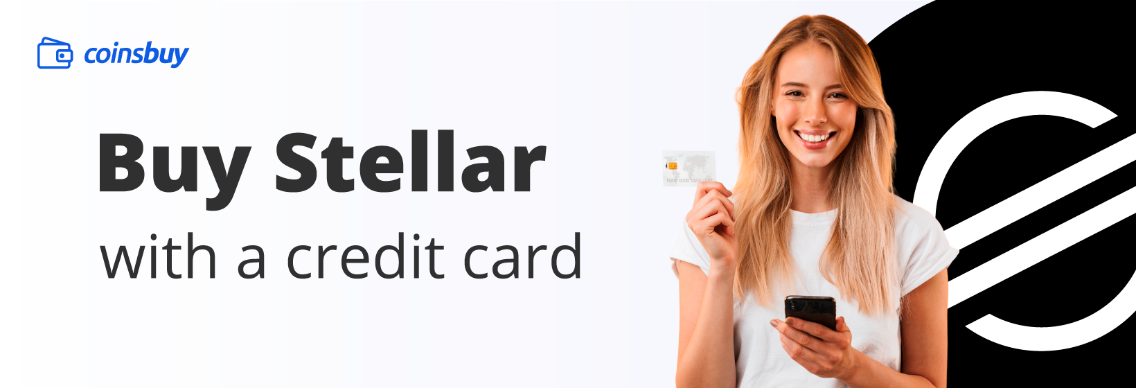 Buy Stellar with credit card