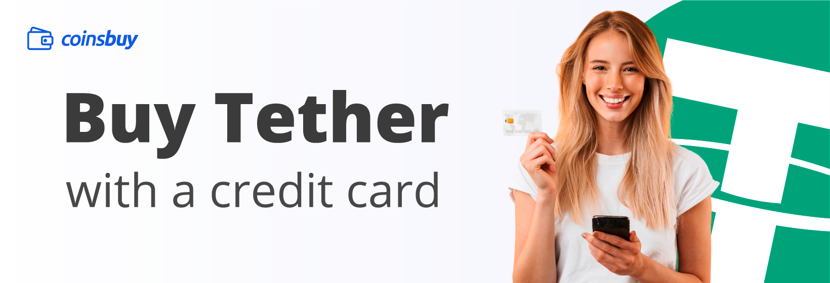 Buy Tether with a credit card