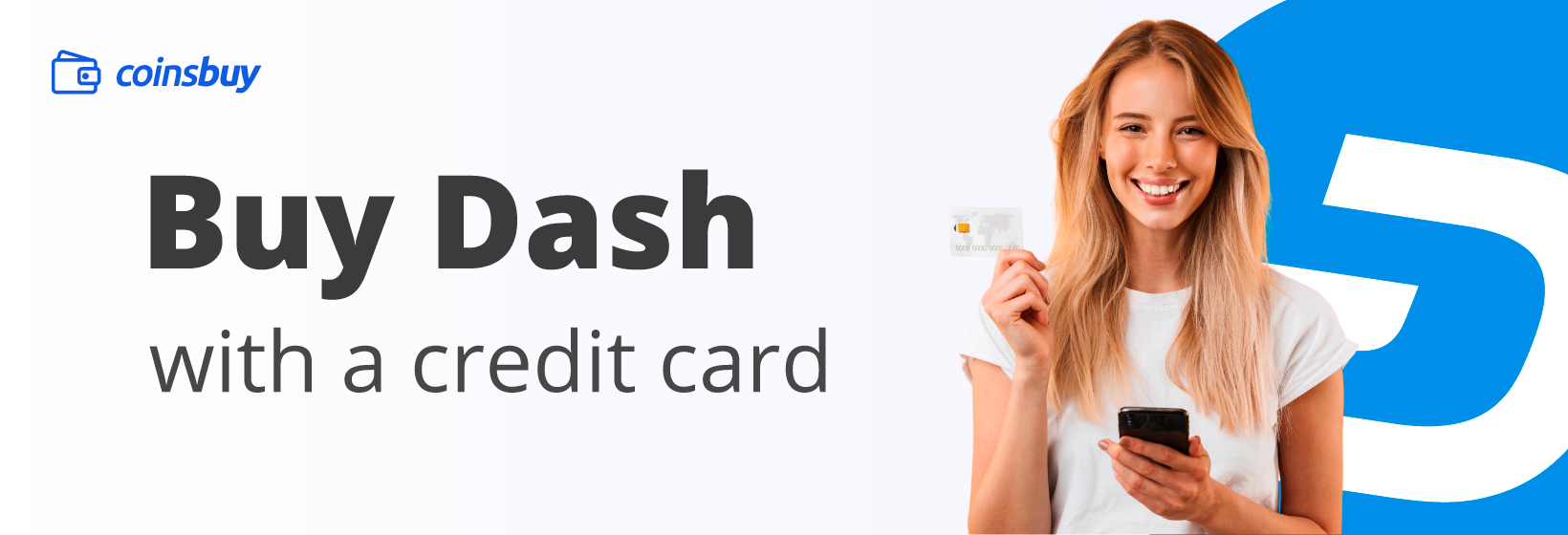 Buy Dash with credit card