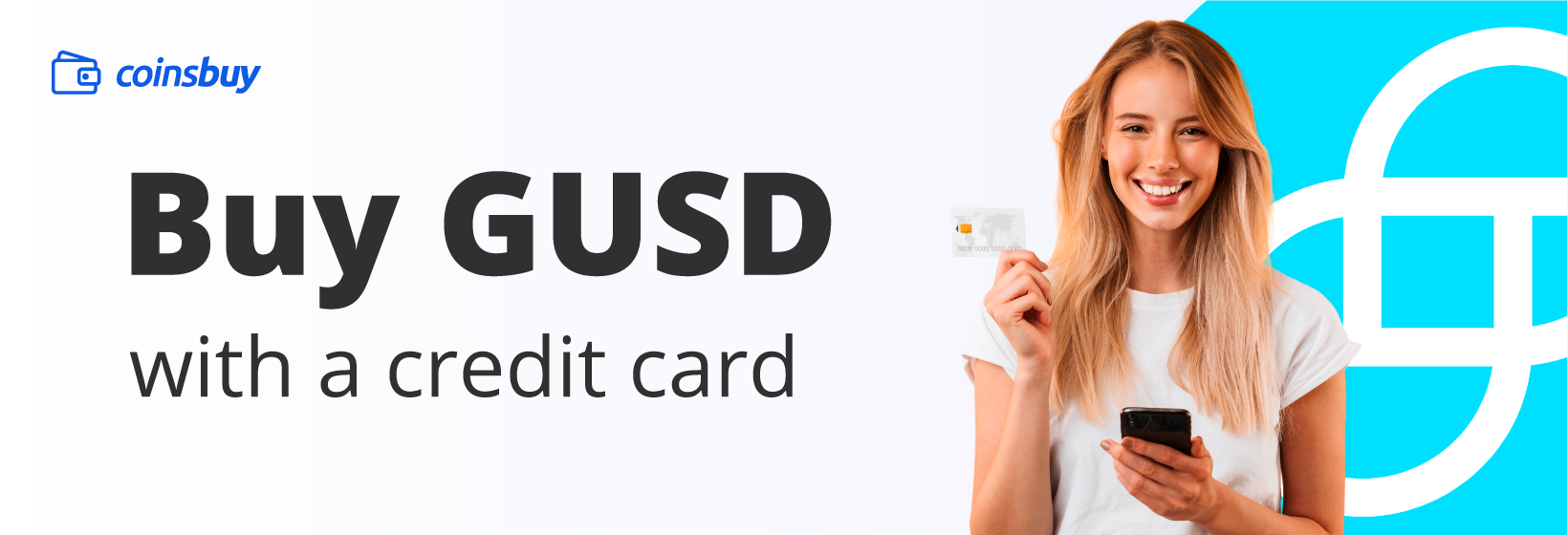 Buy GUSD with credit card