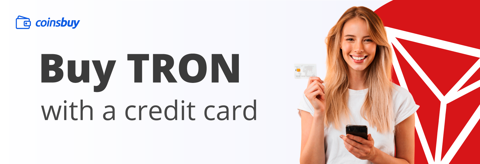Buy Tron with credit card